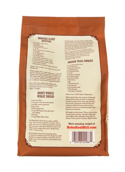 BOBS Flour Whole Wheat 3 Lb