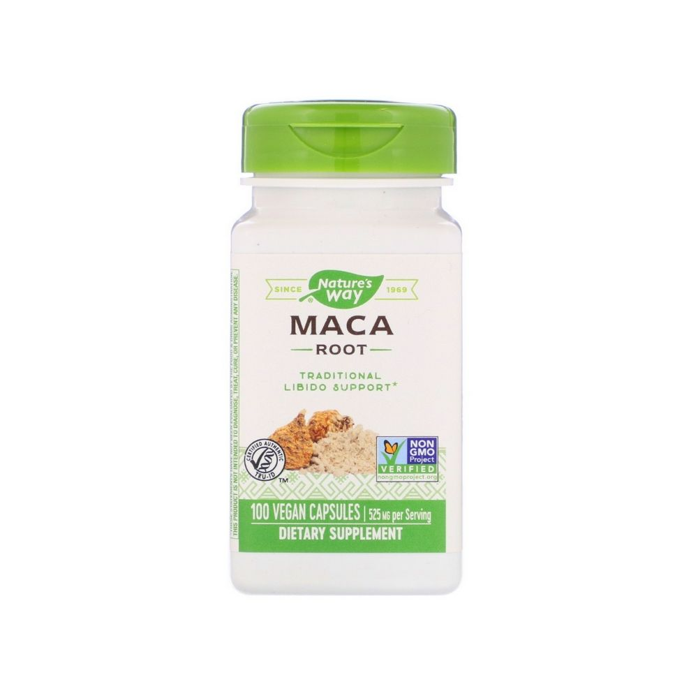 Nature's Way Maca Root 100 Capsules