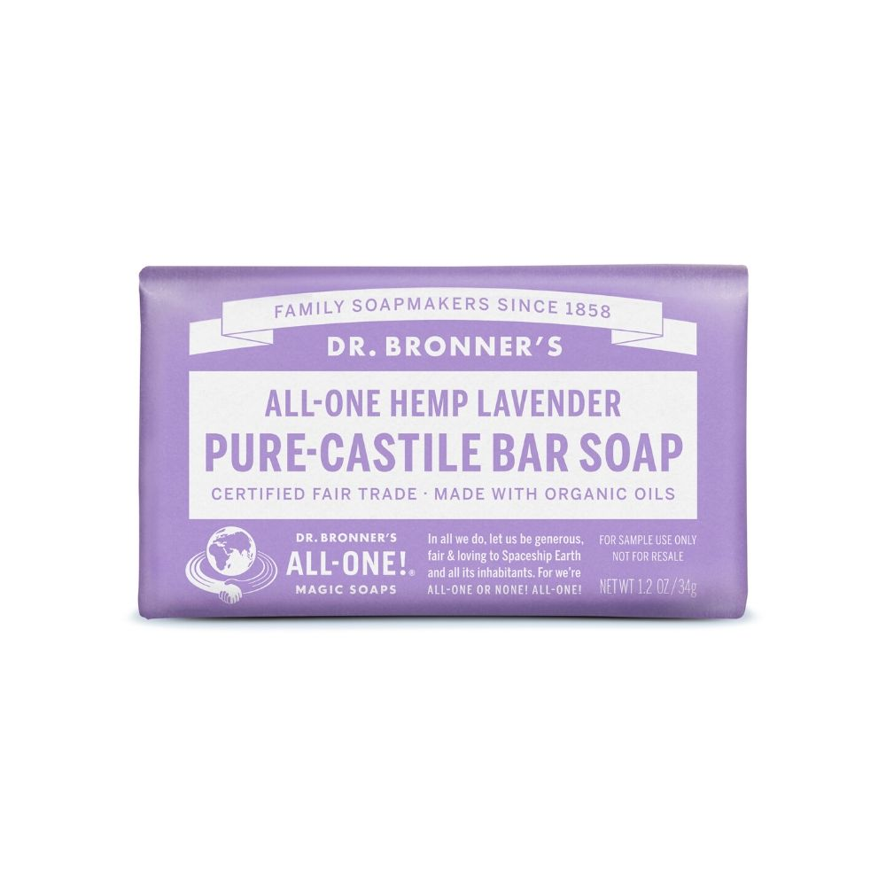 Dr. Bronner´s Lavender Bar Soap