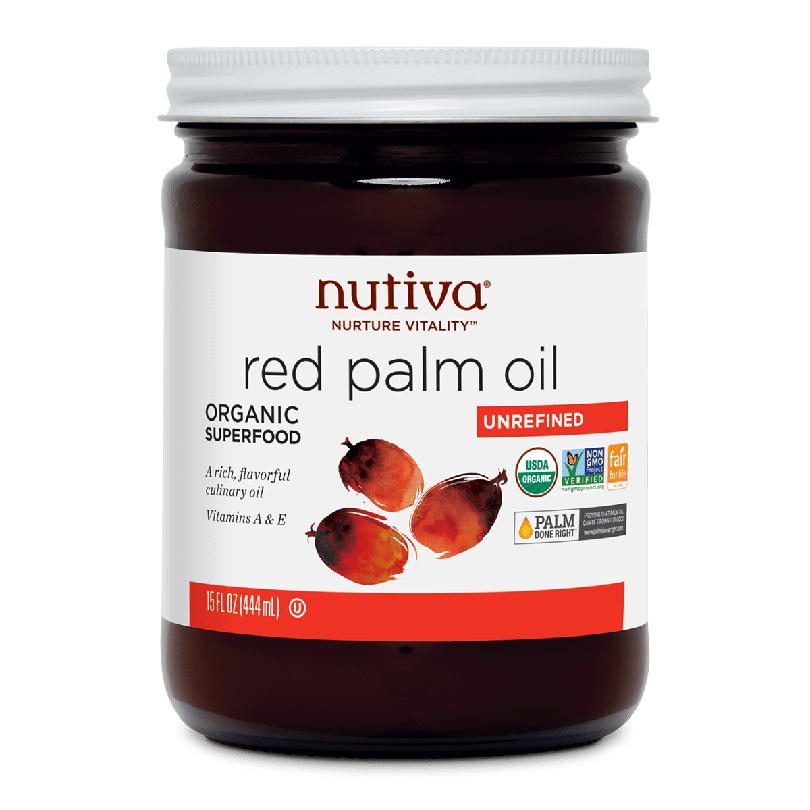 Nutiva Oil Red Palm OG 15oz