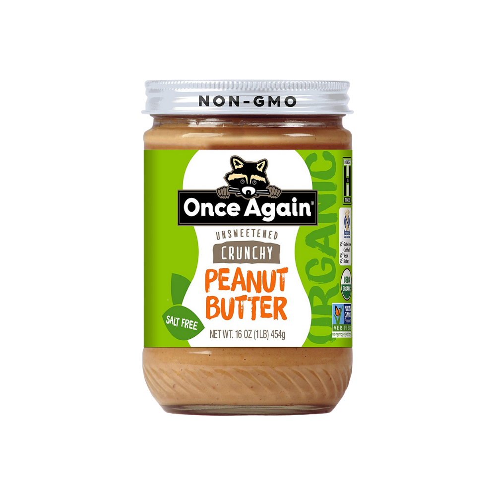 Once Again Peanut Butter Crunchy  OG 16oz
