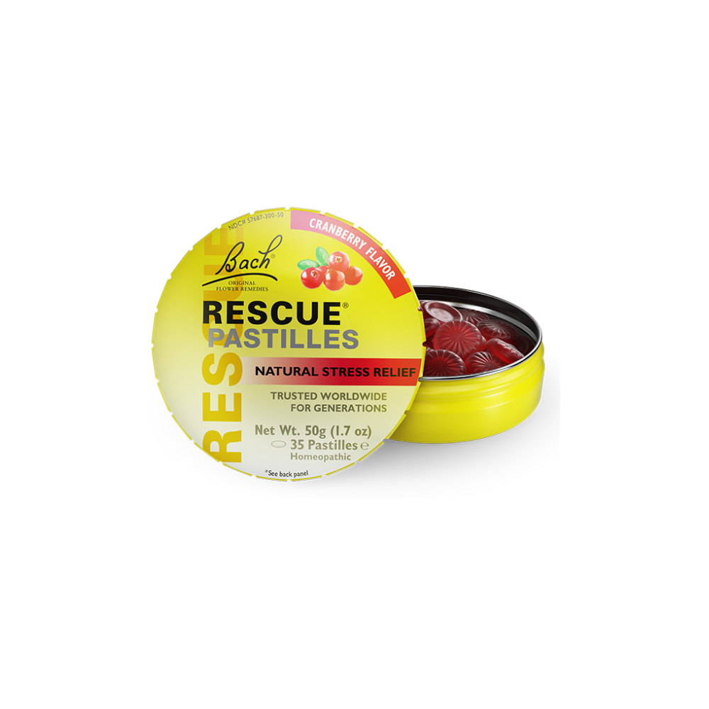 Bach Rescue Remedy Pastille Cranberry 50g