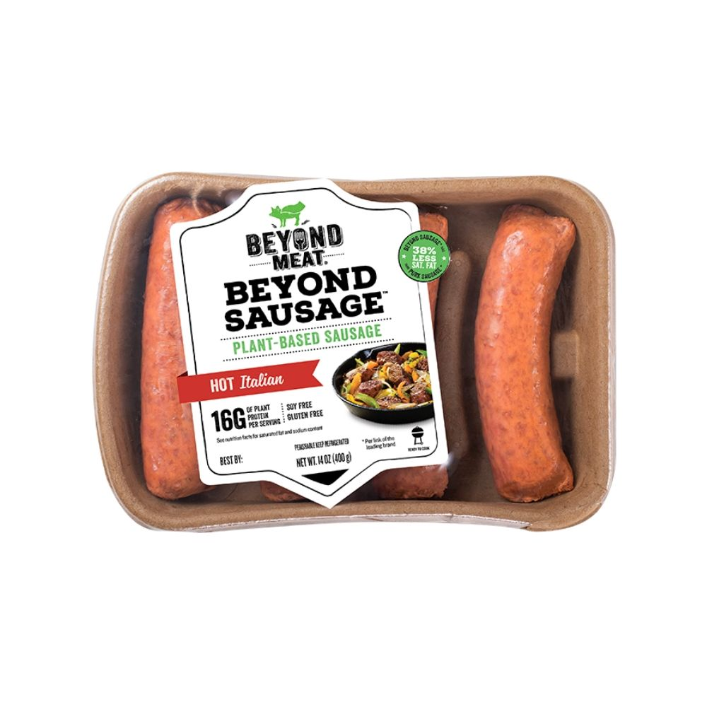 Beyond Meat Sausage Italian Hot GF 14oz