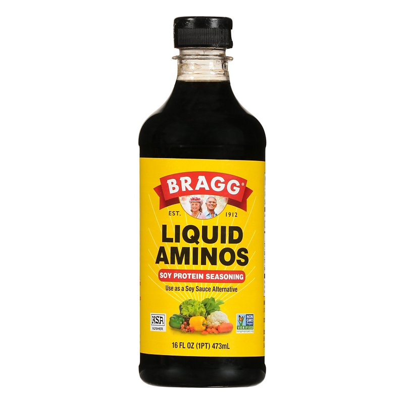 Bragg Sauce Soy Aminos Bottle 16oz
