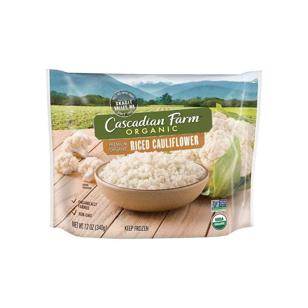 Cascadian Farm Frozen Riced Cauliflower OG 12oz