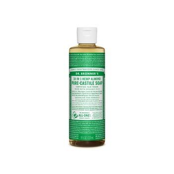 [018787771082] Dr. Bronner's Hemp Almond Liq Soap 8oz