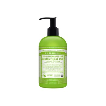 [018787950050] Dr. Bronner's Pump Lemongrass Soap 12oz