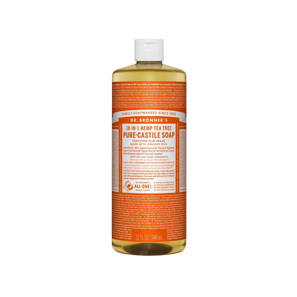 Dr. Bronner's Tea Tree Liq Soap 32oz