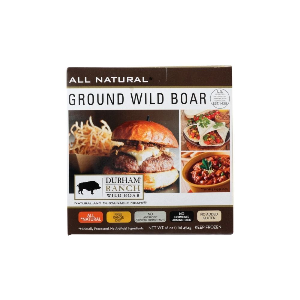 Durham Ranch Wild Boar Ground 16oz
