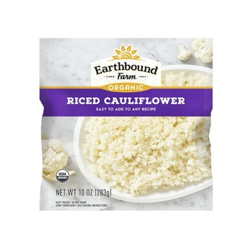 [032601951962] Earthbound Farm Frozen Riced Cauliflower OG 10oz