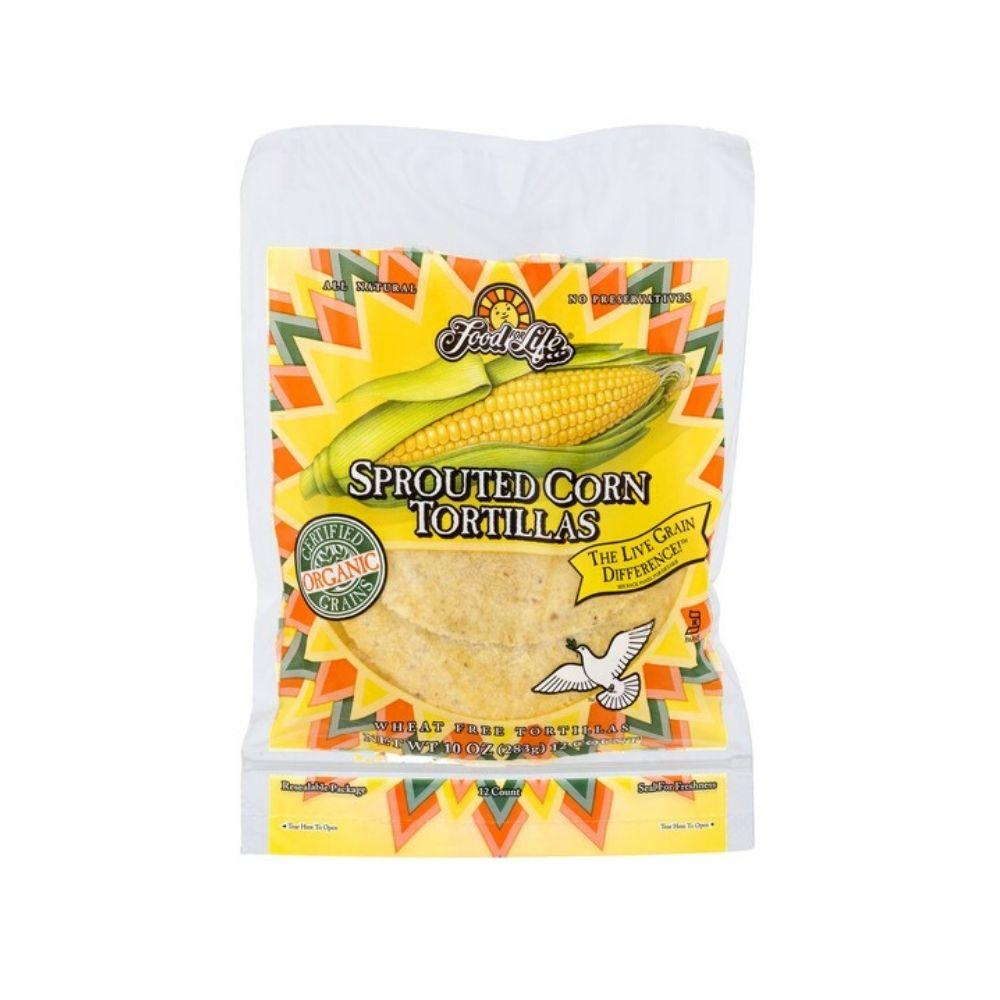 Food For Life Tortilla Corn Sprouted OG 6in 10oz