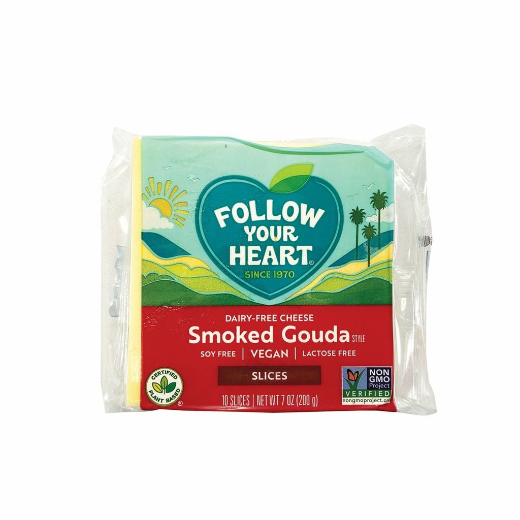 Follow Your Heart Cheese Gouda Smoked 7oz