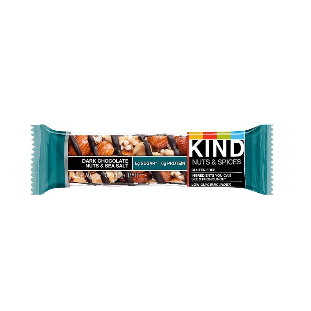 Kind Bar Dark Chocolate Nuts Sea Salt