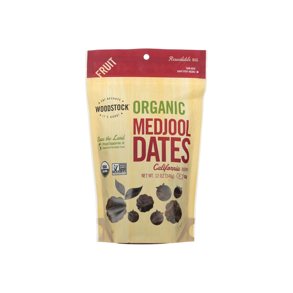 Woodstock Dry Dates Medjool OG 12oz