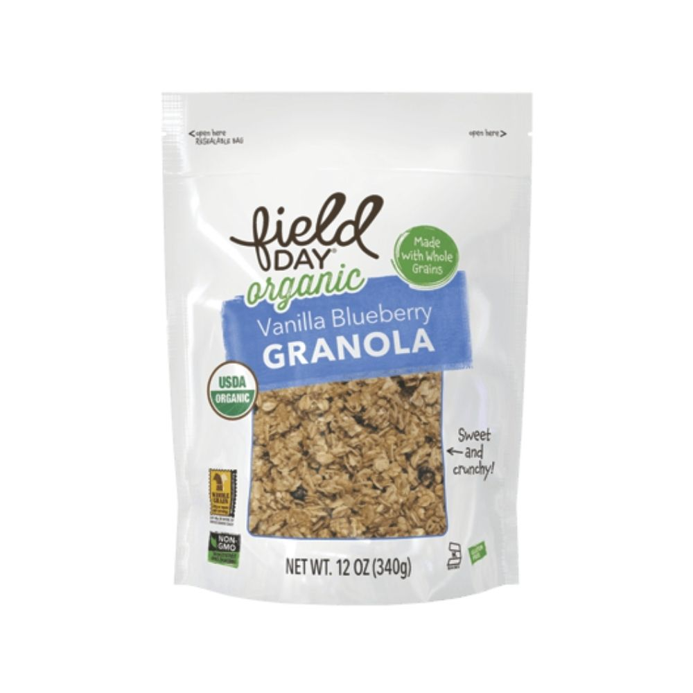 Field Day Granola Vanilla Blueberry GF OG