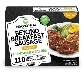 [852629004897] Beyond Meat Sausage Breakfast Classic 6c