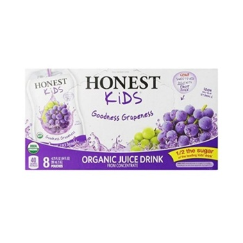 [657622102478] Honest Kids Juice Kids Grape OG 6.7oz