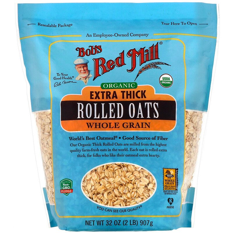 BOBS Oats Rolled Thick Extra 32oz*