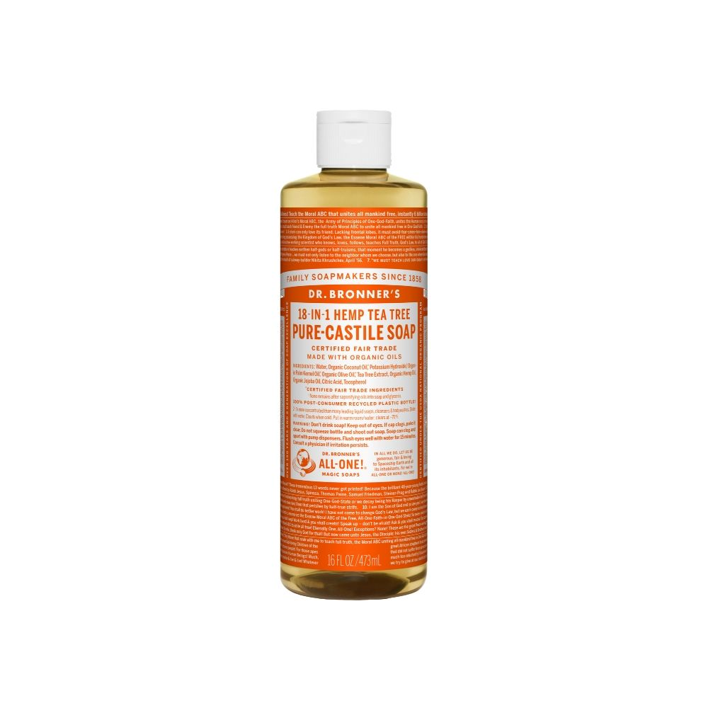 Dr. Bronner´s Tea Tree Liquid Soap 16oz