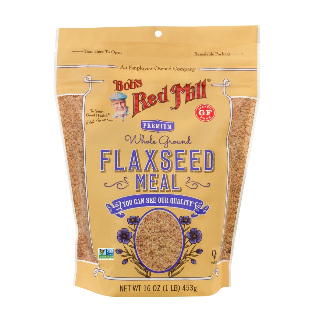 Bob's Red Mill Flax Seed Meal Golden GF 16oz