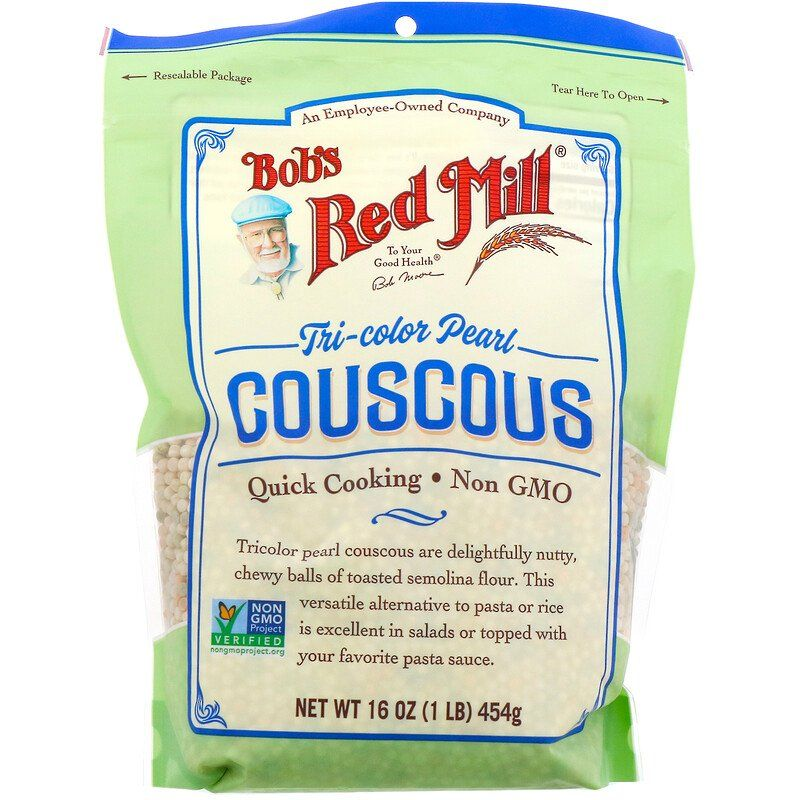 Bob's Red Mill Couscous Pearl Tricolor 16oz