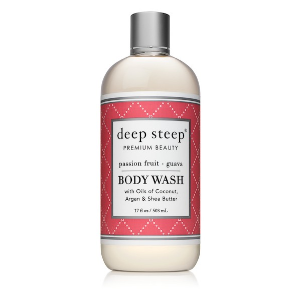Deep Steep Body Wash Passion Fruit Guava 17oz
