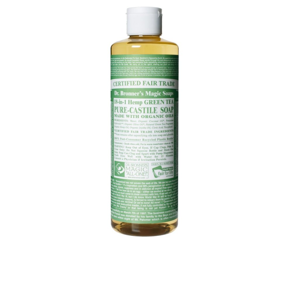 Dr. Bronner's Soap Green Tea Liq 16oz