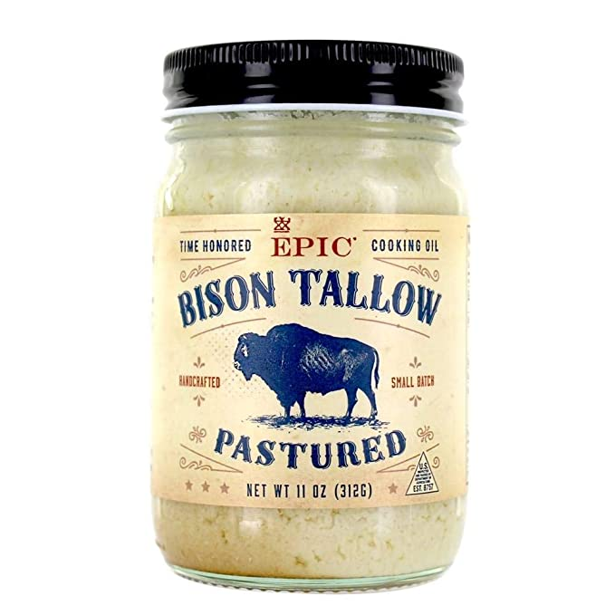 Epic Oil Bison Tallow Pastured 11oz