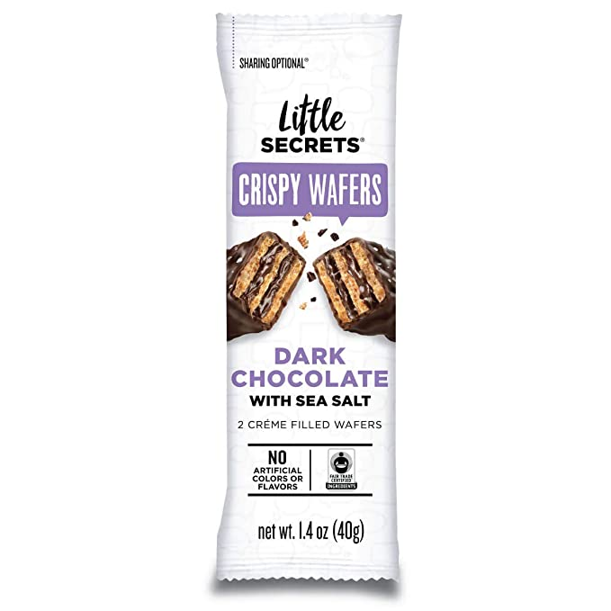 Little Secrets' Choco Wafer Dark Sea Salt 1.4oz