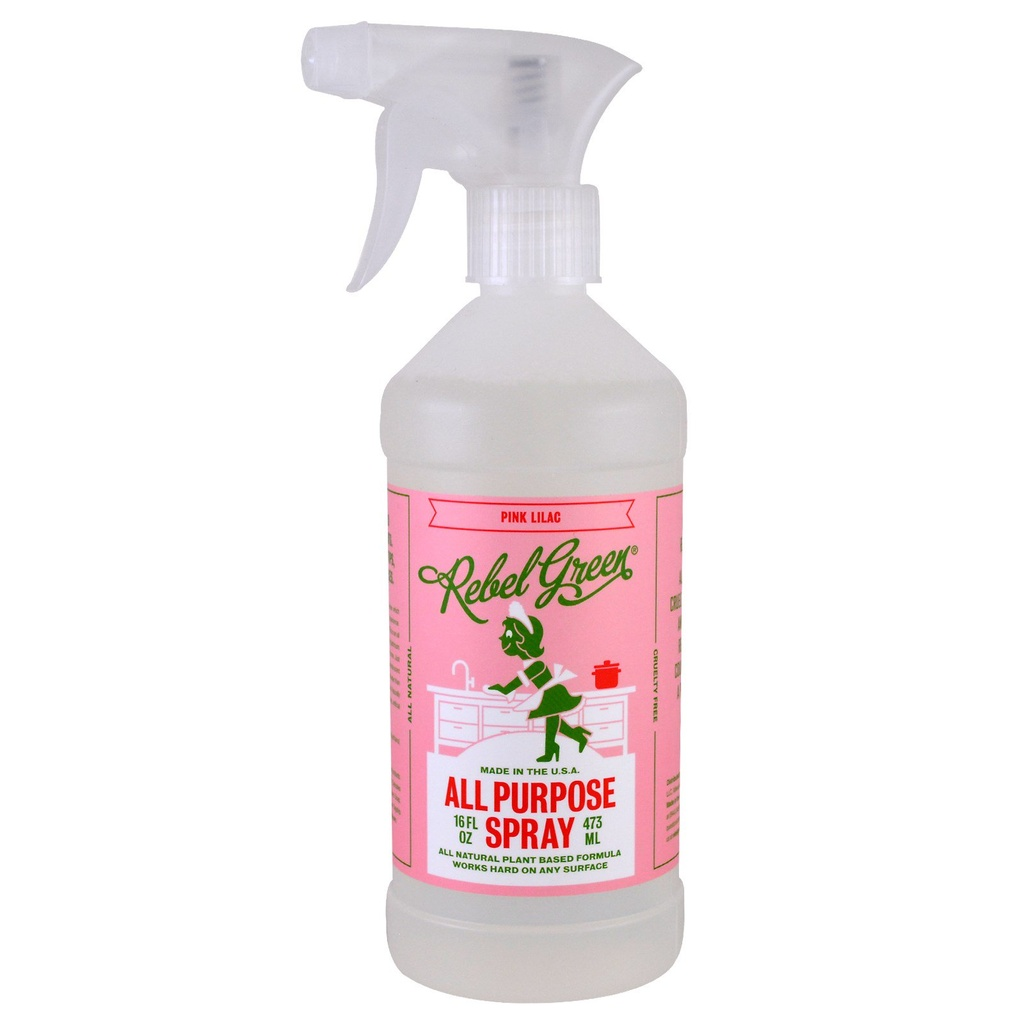 Rebel Green Cleaner All Purpose Pink Lilac 16fz