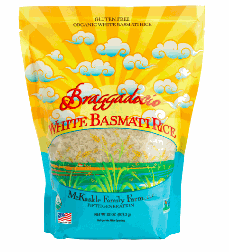 Braggadocio Rice White Long GF OG 2lb
