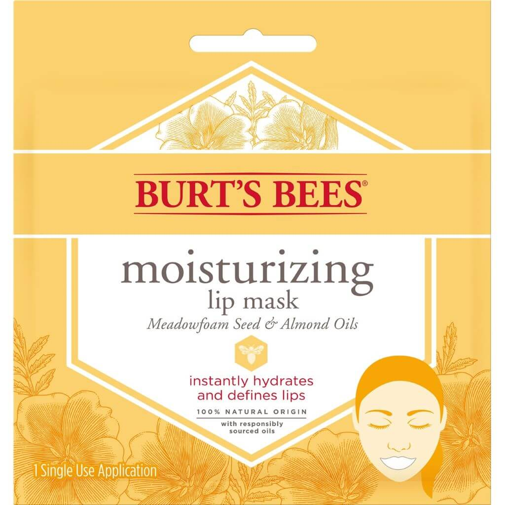 BURTS Face Mask Lip Moisturizing 0.02oz