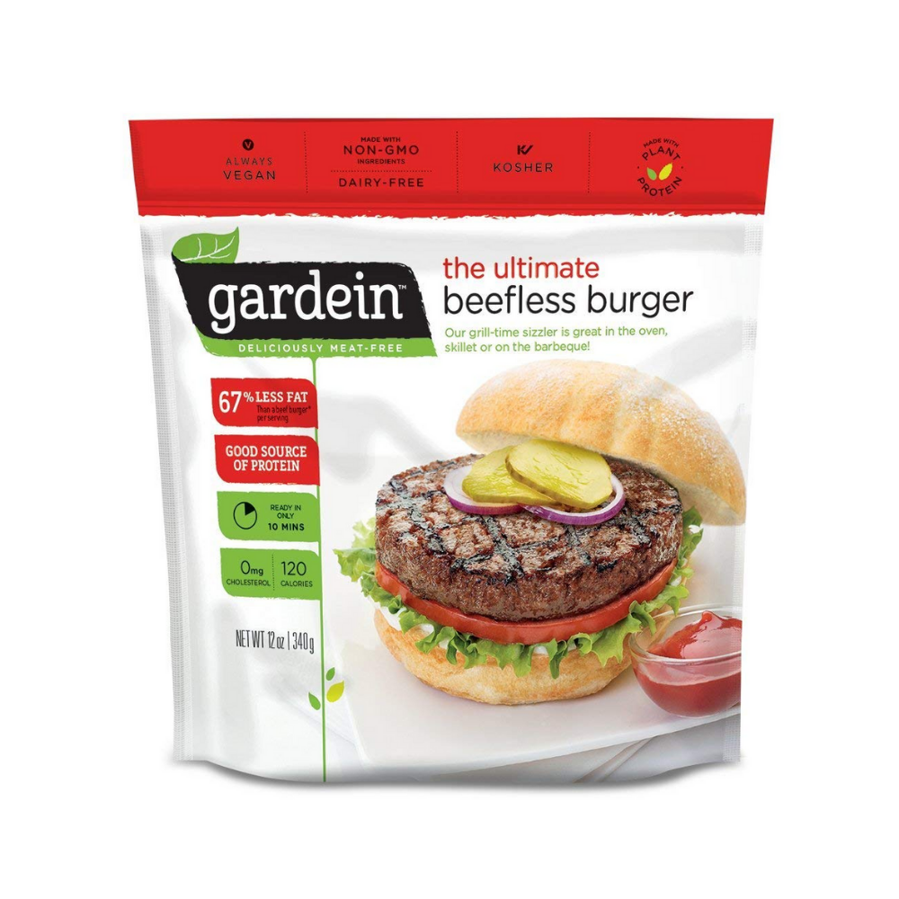Gardein Burger Beef Less Ultimate V 12oz