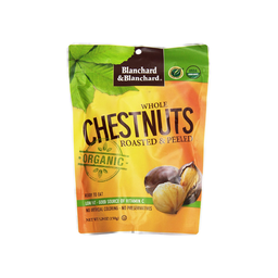 [073490154096] Blanchard & Blanchard Nuts Chestnuts Whole Peeled OG 5.29oz