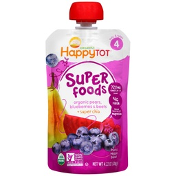 [819573010275] Happy Baby Baby Food Blueberry Pear Beet OG