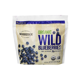 [042563001322] Woodstock Fzn Blueberries Wild OG 10oz