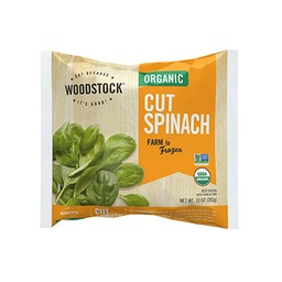 [042563001643] Woodstock Frozen Spinach Cut OG 10oz