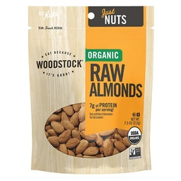 [042563008253] WODSTK Nuts Almond Raw OG 7.5oz