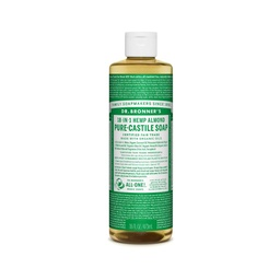 [018787761168] Dr. Bronner´s Almond Liquid Soap  16oz