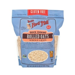[039978033765] Bob's Red Mill Oats Quick Cooking GF 28oz