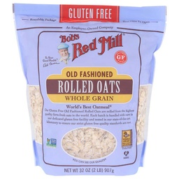 [039978033758] Bob's Red Mill Oats Rolled Old Fashiond GF 32oz