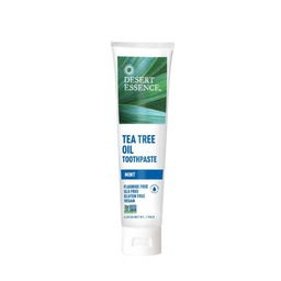 [718334220550] Desert Essence Tea Tree Oil Toothpaste Mint 6.25 oz