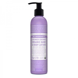 [018787930045] Dr. Bronner's Lavender Coconut Body Lotion 8oz
