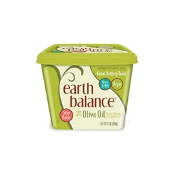 [033776011864] Earth Balance Butter Spread Olive Oil 13oz