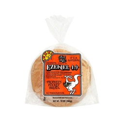[073472003817] Food For Life Bread Ezekiel Pita Pocket 10oz
