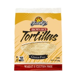 [073472003695] Food For Life Tortilla Brown Rice WF GF 6c