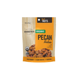 [042563012533] Woodstock Farms Nuts Pecans Halves OG 4.5oz