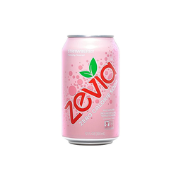 [894773001582] Zevia Soda Diet Strawberry GF 12oz
