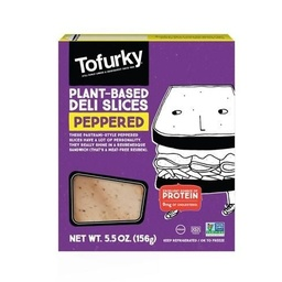 [025583004221] Tofurky Deli Slices Peppered V 5.5oz