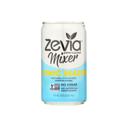 [849429000518] Zevia Mixer Tonic Water 7.5oz UN